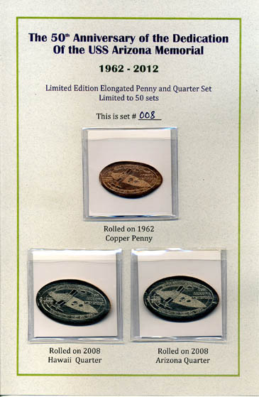 SERIES V LIGHTHOUSES OF HAWAII HAWAII ELONGATED CENTS
