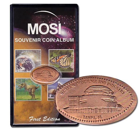 US Air Force Elongated Pressed Penny Souvenir Album Book ..