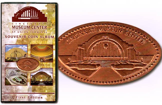 Elongated  Pressed Penny Souvenir Book  Album District of Columbia